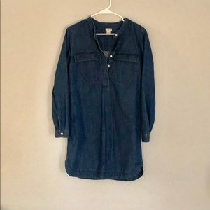J.Crew Light Weight Denim Dress